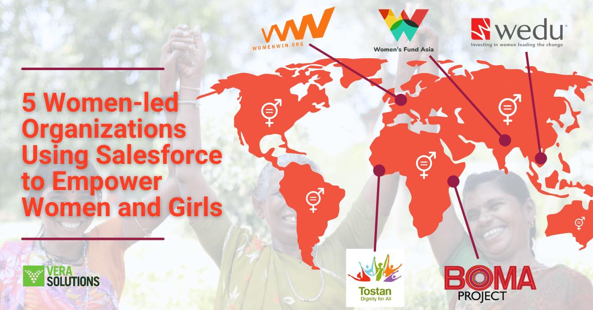 5 Women-led Organizations Using Salesforce to Empower Women and Girls