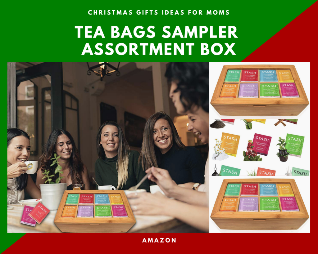 Stash Tea Bags Gifts Box. Insanely cool christmas gift your mom will love