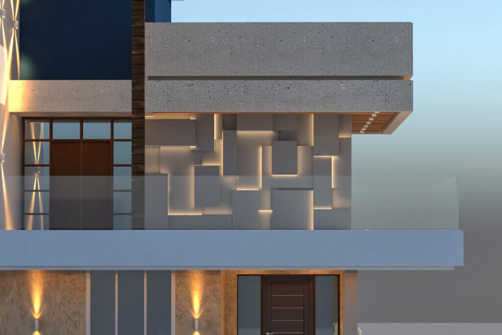 Colaco Villa - Detail