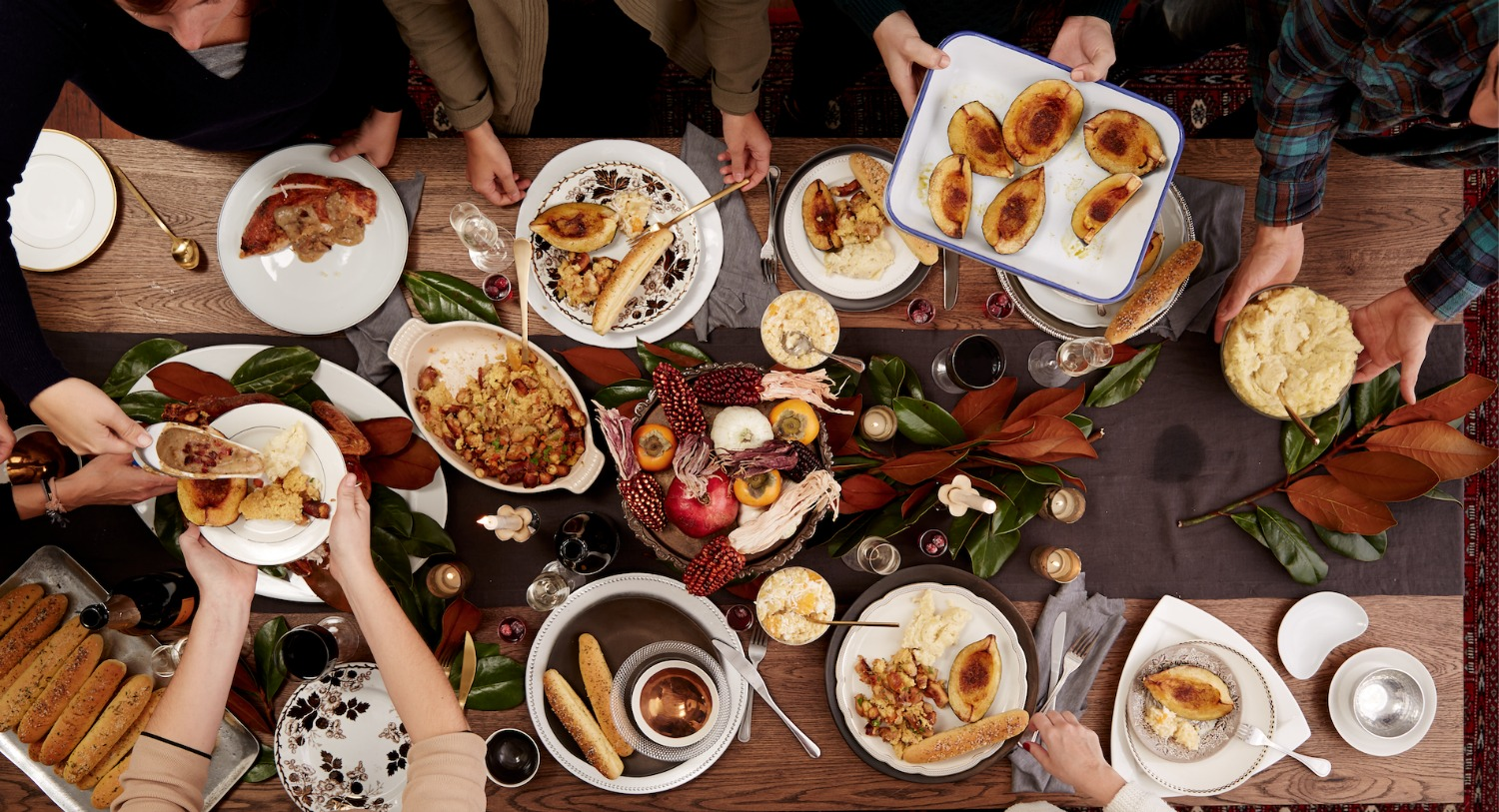 PACE YOURSELF FOR THANKSGIVING DINNER