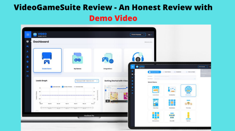 VideoGameSuite Review - An Honest Review with Demo Video