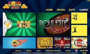 Online Casino Gaming at Coinfalls Casino