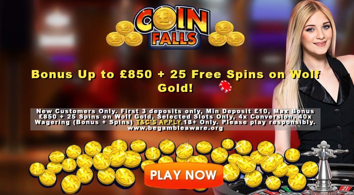 The Latest Welcome Promotion Offered at Coinfalls Casino