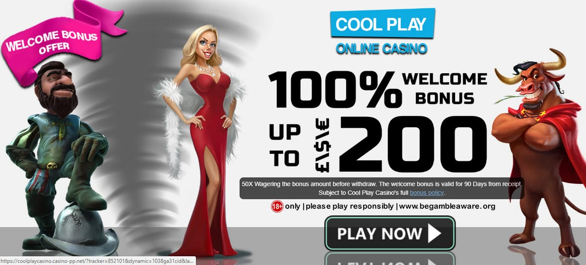 UK Players Get Up To £200 Exclusive Welcome Bonus at Cool Play