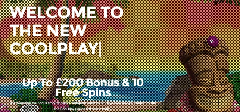 Cool Play Casino - Get Bonus Spins Now