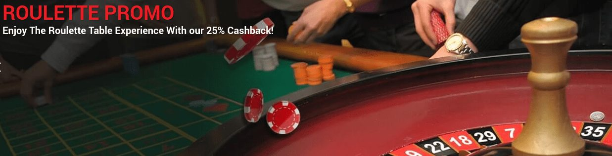 Get 25% Cashback With CoolPlay Live Roulette