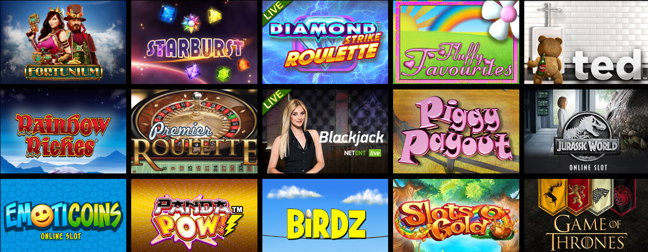 Just Some of the Amazing Games at Cool Play Casino