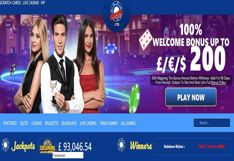 Live Customer Help 27/7 Only from Slots Ltd