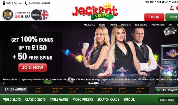 Slots and Live Dealer Site