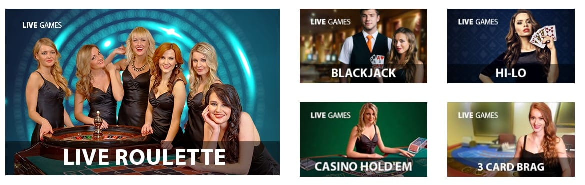 Live Casino Tables Games
