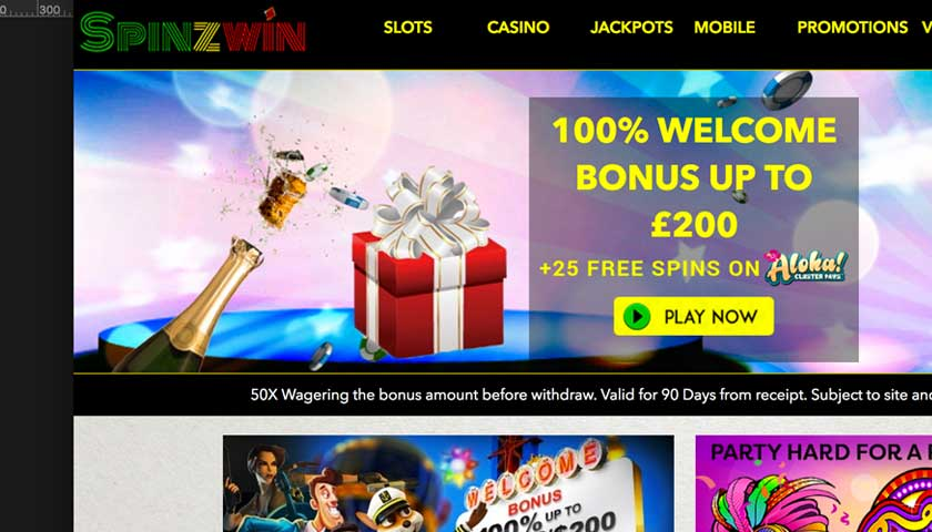 Spinzwin Online Casino Welcome Offers Are Generous to New Players