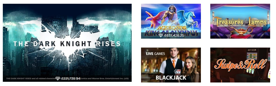 Top Slots and Bonuses up to £100