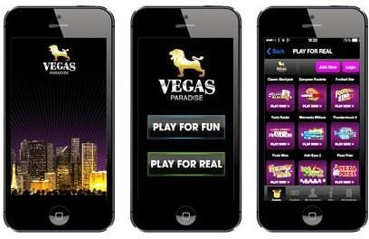 Vegas Paradise has some Flawless Mobile Gaming for on the Go Experiences
