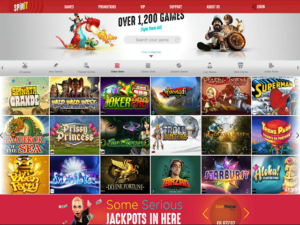 Over 1200 Online Slot Games to Play!