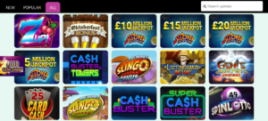 A Variety of Different Styles of Games Available