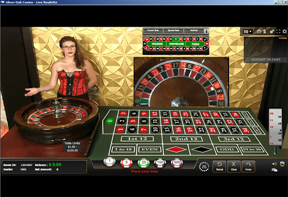 Live Dealership Games Fully Interactive Play at Silver Oak Casino Online