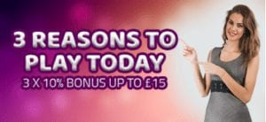 3 Reasons to Play Today at Slotmatic Online Casino