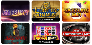 Play Awesome Slots Games Like Starburst and Many More