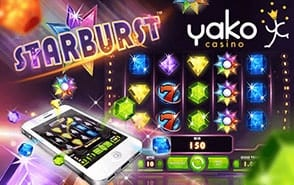 Play Yako Casino Starburst & Loads More Slots