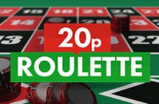 Play 20p Roulette with Grosvenor Casino