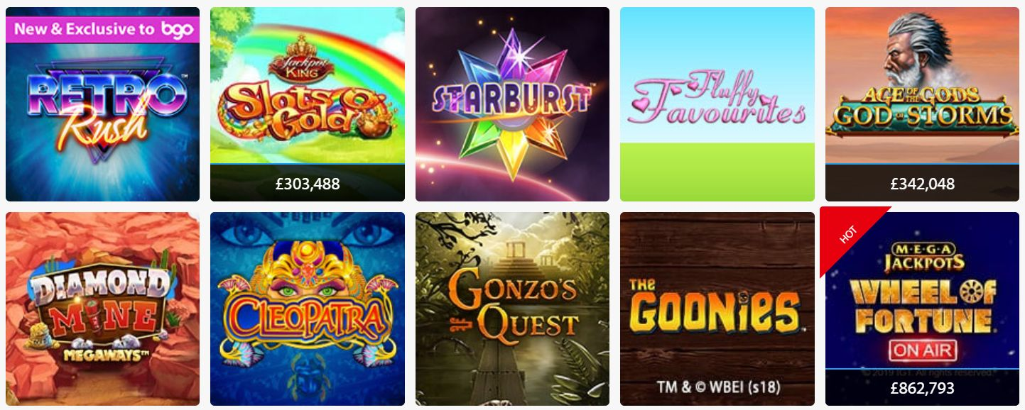 See The Latest Games on Offer at BGO Casino