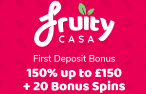 Get 20 Bonus Spins at Fruity Casa Casino