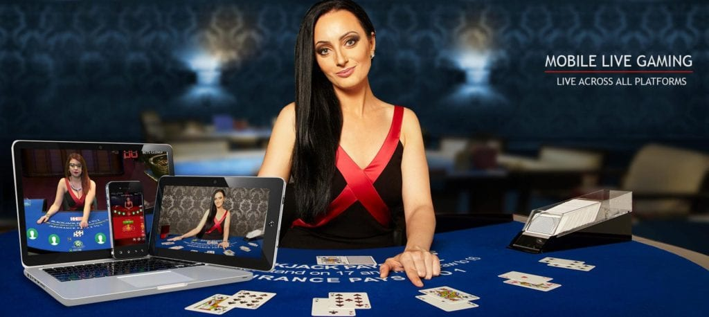 Mobile Live Casino Gaming with Real Life Hosts, An Immersive Video Experience