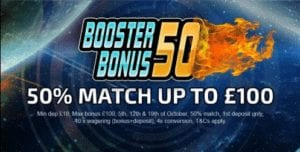 Vegas Baby Casino 50% Match Up to £100