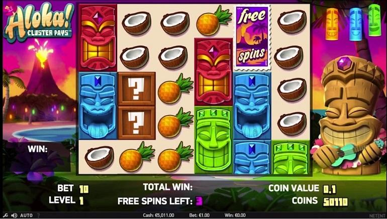 5 Reel Video Slots with Great Pay Lines!
