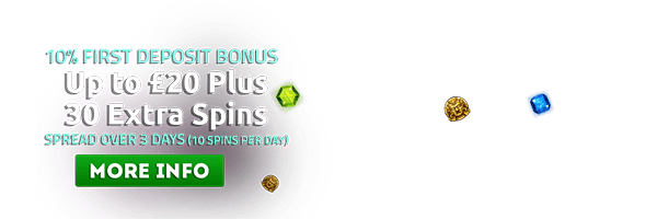 30 Spin Bonus Available T's and C's Apply