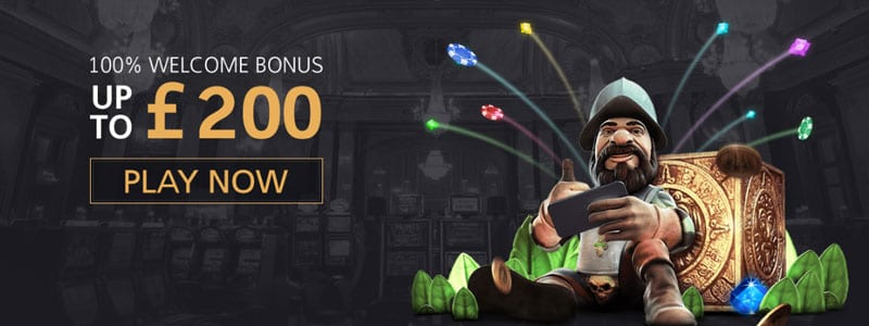 Collect Your 100% Bonus up to £200, Play Today