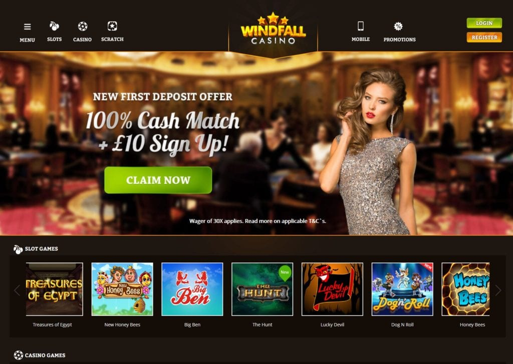 Windfall Casino Online Has a Live Lobby With Extensive Range