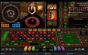 Live Game Play of European Roulette at Slot Fruity Casino