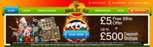 Great Bonuses and Fun Slots Games to Choose From