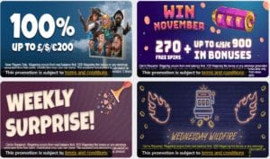 An Amazing Choice Of Bonuses to Choose From at Slots LTD Casino