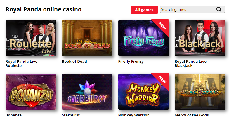 Popular Casino Games Online