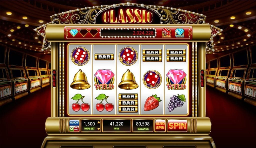 Classic Slots and 5 Reel Video Slots at Your Fingertips