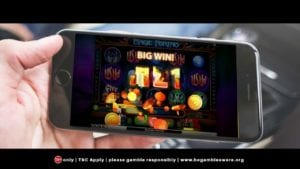Play on Mobile at Slot Fruity Casino