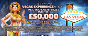 999 Cash Prizes Worth £50,000 at Cheeky Riches Casino