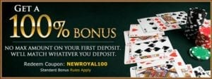 Royal Ace Casino Will Match WHATEVER You First Deposit