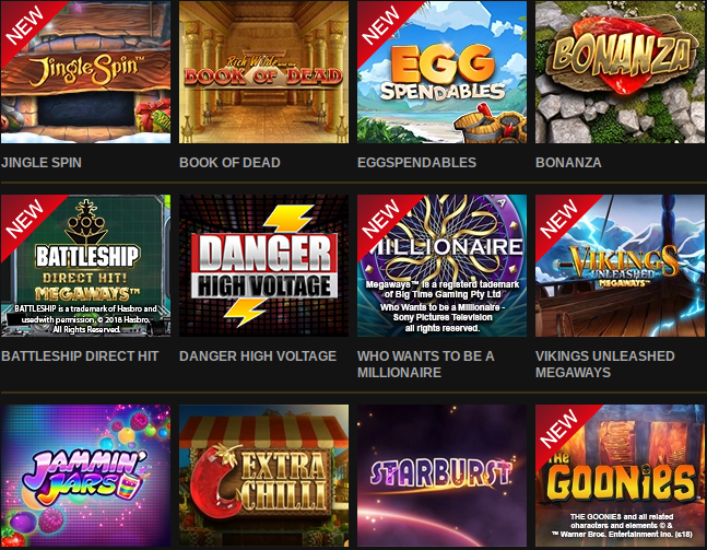 Over 2400+ Games at Video Slots Casino