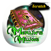 Get Ready to Play Merlins Millions Scratch Cards Now