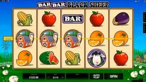 An Example of The Clean User Interface on Bar Bar Black Sheep Slot