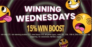 Winning Wednesdays Awesome Promotions