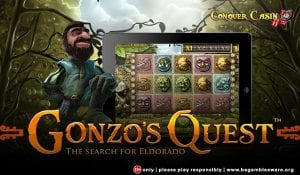 Play Gonzo's Quest on Mobile or Tablet Devices