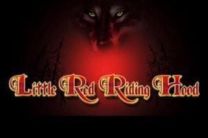 The Little Red Riding Hood Slot Welcome Screen