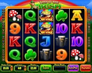 Play Luck of the Irish Slot Now at Fruity Casa