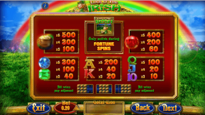 Play Luck of the Irish Slot with up to £300 Welcome