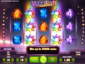 Play Starburst With Your 50 Free Spins