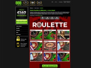 Fun Roulette Games to Choose From at 888 Casino Online